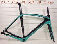 Wholesale 2016 black blue color T1000 UD XR2 TOP NEW cycling carbon road frame bike bicycle frameset size cm cm cm cm sell giant merida
