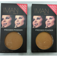 Wholesale Professional Pressed Face Powder Bronzer Foundation Brand Cosmetics IMAN Makeup Art Cosmetics Clya Earth Pressed Powders g