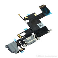 Wholesale For iphone dock connector original flex ribbon cable Charge Connector Flex Cable months warranty DHL shipping