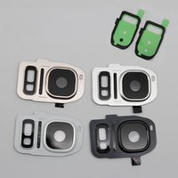 Wholesale OEM Rear Camera Cam Lens Lid Back Cover Flash Diffuser For Samsung Galaxy S7 S7 Edge