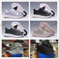 Flat art cardboard - Mens Womens Originals Tubular Shadow Knit Core Black White Cardboard Sneakers Running Shoes boost D Sneakers