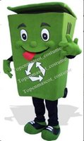 ash trash - Recycle trash can mascot costume adult size waste ash bin garbage can anime costumes advertising mascotte fancy dress kits mascot