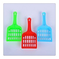 animal pet supplies - 2017 Hot Pet Litter Scoop Sifter Litter Animals Pets Cat Dog Wastes Plastic Scooper Pet Cleaning Supplies For Cat DHL