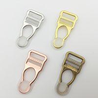 Wholesale high quality Silver Gold Rose Gold plated alloy suspender clip garter belt clip