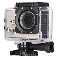 Wholesale Remote Action Camera Ultra HD K WiFi Sport Camera P fps LCD D Lens Helmet Cam Go Waterproof Pro Camera