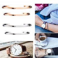 american fashion watches - Fashion Brand Lovers Bracelet Strap Available For Daniel Wellington Watches Collocation Bransoleta DW Classic Cuff accessories