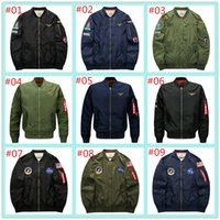 Wholesale 2017 New men s XL coat jacket ma Air Force One flight jacket men NASA thickening fertilizer foreign trade king lala ikai jackets