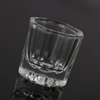 art fuse - Glassware Tool Glass Crystal Cup Acrylic Liquid Powder Kits Nail Art Acrylic Liquid Powder Dappen Dish Nail tools DHL