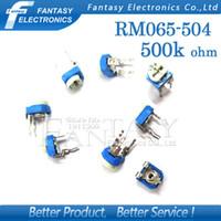 Wholesale RM065 RM K ohm RM065 Trimpot Trimmer Potentiometer variable resistor