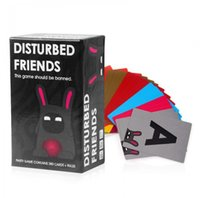 Wholesale wonderful gift Adult game Disturbed Friends This game should be banned Amusement Toys Party and Board Game for you having fun
