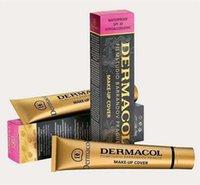 Wholesale Newest Dermacol base Make up Cover concealer cream dermacol makeup Classic Brand consealer dermacol make up cover g