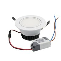 Wholesale Super Bright Recessed LED Adjustable Downlight COB W LED Spot Light LED Decoration Ceiling Lamp AC85 V