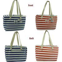 Wholesale Sailor stripe pet dog bag Pet portable bag out Grid classic fashion dog bag cat bag teddy dog