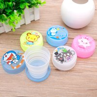 Wholesale Cartoon Folding Children s Cup Outdoor sport convenient retractable Cup Below ml B219