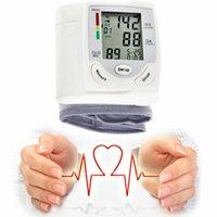 Wholesale Health Care Portable Wrist Blood Pressure Pulse Meter Digital Automatic Blood Pressure Monitor Household Heart Beat Rate Measure