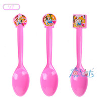 Wholesale spoon fork knife three princess birthday kids baby party paper kids birthday suppliers Theme Supplies Decoration