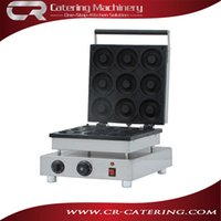 Wholesale High quality stainless steel electric baking pan commercial donut making machine automatic cake making machine made in China CR DN9A