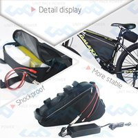 battery frame for electric bike - 500W V AH Lithium ion Battery Customized V Triangle Battery For Electric bike Frame with