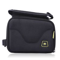 Wholesale New CoolChange Bike Cycling inch Screen Touch Front Tube Bag Double Pouch MTB Road Bike Front Frame Tube Bag