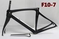 al por mayor bicicleta de carretera de carbono 55-Marco de la bici del camino del carbón del frameset de la bicicleta del camino, tamaño disponible: 44 / 46.5 / 50 / 51.5 / 53/55 / 57.5cm