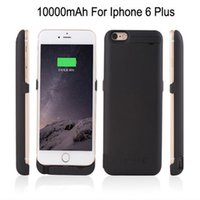 battery recharger for iphone - 10000mAh External Recharger phone case Charger Backup Battery Case Pack Power Bank Case For iPhone Plus quot