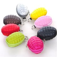 Wholesale Unisex Multifunction Key Bag Fashion Grenade Grenade Key Bag Purse Metrosexual Fashionista Essential Package Key Wallets