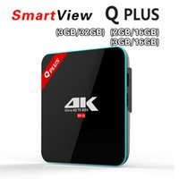 Acheter Wifi hd-Véritable Q Plus 2G / 16G 3G / 16G 3G / 32G Amlogic S912 Octa Core Andorid 6.0 TV BOX 2.4G / 5GHz Dual WiFi