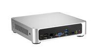 Wholesale mini PC Brand New Intel I3 V44 Aluminum housing GB DDR GB SSD Integrated Card fashion office game HTPC