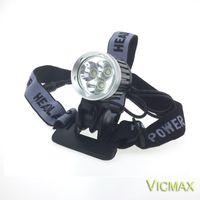 Wholesale NEW Lumens x XM L T6 LED Headlight T6 Headlamp Bicycle Bike Light Waterproof Flashlight Battery Pack