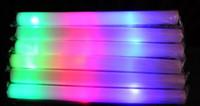 1000pcs Flash palos palos de luz club de luces al por mayor personalizadas llevó luz colorida palos de espuma esponja barra de luz