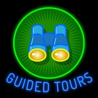 Residential bar agent - Guided Tours printed Binoculars Geen Tube Around Neon Sign Custom Handmade Real Glass Tuble Tour Agent Company Display Neon Signs quot X24 quot