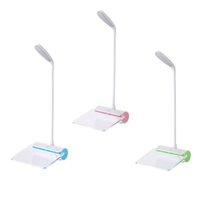 Wholesale Foldable Touch LED Light USB Desk Table Reading Book Dimmable Lamps Message Board