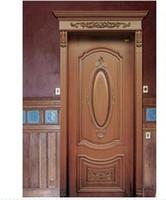 Wholesale Customized size Interior Door Solid wood Wooden Door Building Door