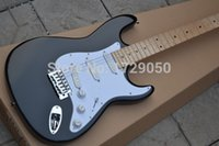 Wholesale Top quality HOT SALE black st Eric Clapton Signature Maple fingerboard electric guitar