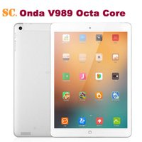 "Cheap 9.7"" Retina2048*1536 Onda V989 Air Allwinner A83T Octa Core 2GB RAM 32GB ROM Android 4.4 Tablet PC 2.0MP Camera BT 7000mAh"