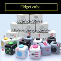 Plastics american puzzle - 2017 colors Popular Decompression Toy Fidget cube the world s first American decompression anxiety Toys child and adult toy