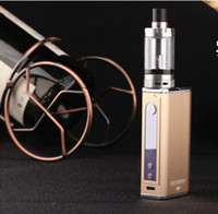 Wholesale Electronic Cigarette Vape Storm W ma oled Box Mod Sub Ohm EC II Tank Battery in E cigarettes Vaporizer Hookah
