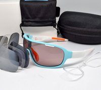 Marque 4 lentilles Hommes Femmes Polarized UV400 Cyclisme Lunettes de soleil do lame Sport Bicycle Glasses Mountain Bike Goggles Outdoor Eyewear