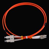 Wholesale Professional Fiber Optic Accessories Duplex Multimode LC SC LC to SC Fiber Optic Jumper Cable Patch Cord