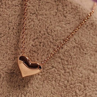 Wholesale 1PC Gothic Heart Crystal Choker Handmade Necklace Pendant Retro Trendy Heart Design Necklaces s New