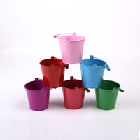 Wholesale trumpet Candy Color Small Drum Children Sandy Beach Toys Barrel Gardening Technology Mini Colour Small Sandy Beach Drum Toys