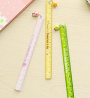 Wholesale Cute mini portable scale ruler ruler ruler CM student activities