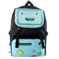 backpack adventure time - Adventure Time with Finn and Jake backpack cartoon anime School Bag student Bags Double Shoulder Anti Water Boy Girls schoolbag