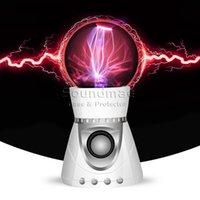 audio parties - Magic Ball Speaker Plasma Bluetooth Wireless Lightnning Flash Music Speaker TFCard Play Loudspeaker Party Sound Box With Retail Package