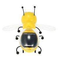 Juguetes lindos interesantes de la abeja al por mayor-Solar Juguetes populares Juguetes educativos de los niños Juguetes interesantes de la energía accionada solar de la energía