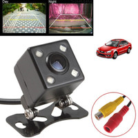 Wholesale Universal IP67 Waterproof Rear View Camera LED Car Back Reverse Camera RCA Night Vision Parking Assistance Cameras
