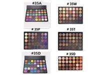 Wholesale 2016 Morphe eyeshadow Morphe color eyeshadow Natural Matte Eyeshadow palette O A B C D W T P COLORS