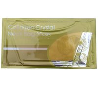 Wholesale Gold Collagen neck mask compact to neck wrinkle whitening and nourishing to yellow