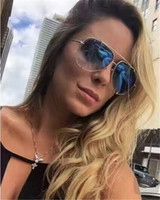 Wholesale 2017 new fashion sunglasses DITA TALON the pilot glasses with crystal lens in