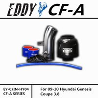 Wholesale Fit For Hyundai Genesis Coupe Fine Quality Racing Brand EDDYSTAR EDDY Carbon Fiber Cold Air Intake System Air Filter